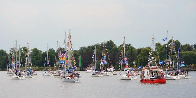 Glasgow Commonwealth Flotilla 2014