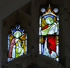 two Lawshall angels