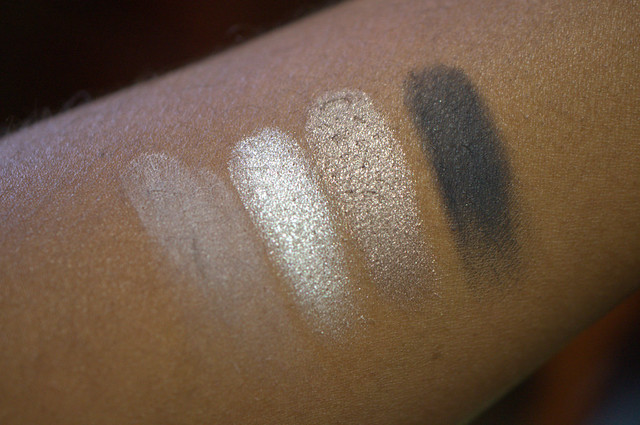 Haughty Cosmetics  smokey eye quad