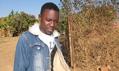 Allens Malambo, an orphan from Pemba in southern Zambia is a beneficiary of the government-run Social Cash Protection Scheme. Credit: Friday Phiri/IPS