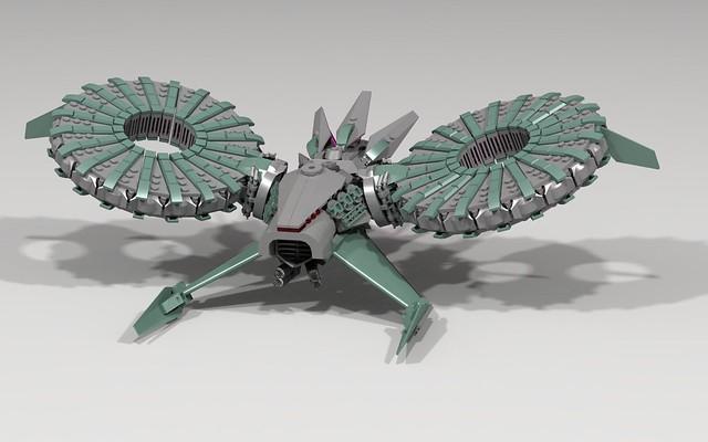 Alien Hover-craft