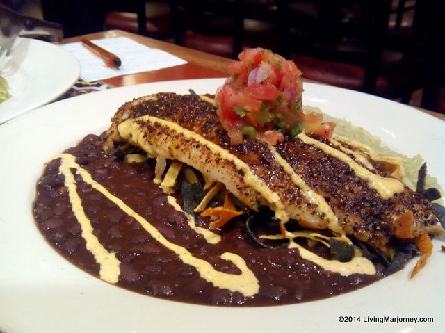 Chili's Blackened Fish Fillet