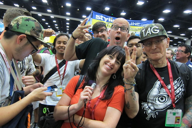 PUSHEAD Pop Up Event SDCC 2014