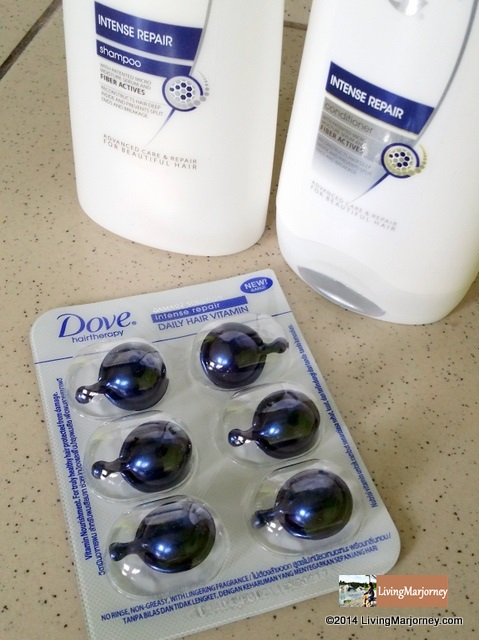 Dove Hair Vitamin