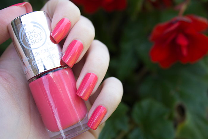 The Body Shop Colour Crush Nail Polish in Rosy Cheeks