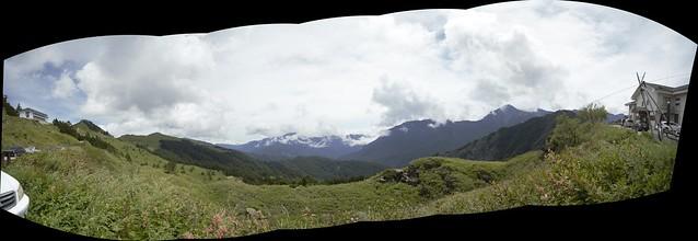 滑雪山莊風景