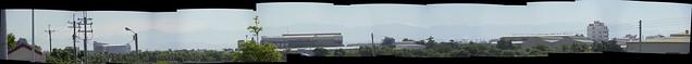 台南遠望中央山脈