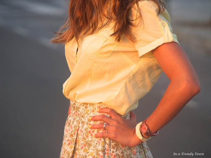 DIY Sunset Skirt
