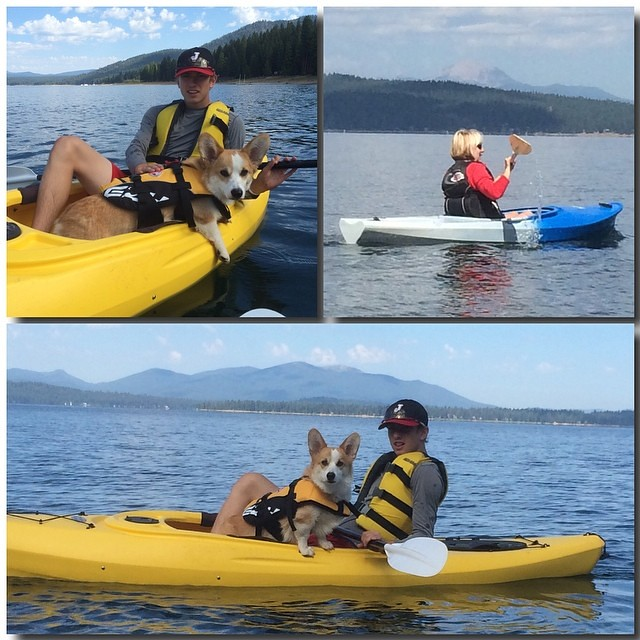 Kayaks! - 2014 Lake Almanor Day 3 - #lake_almanor_2014