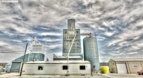 trek google farmers elevator coop wyoming hdr highdynamicrange grainelevator streetview panamerican gillette wy photomatix gsv googlestreetview