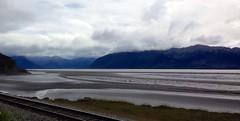 On the Seaward highway, Alaska