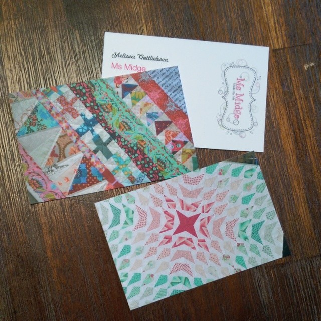Just received my new business cards from @moo and love them!!! #nowimreallyaquiltingbusiness