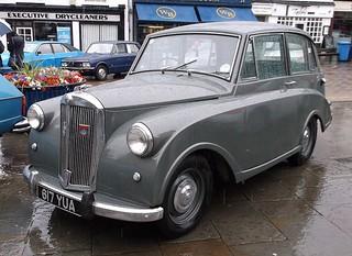 Grey Car on a Grey day