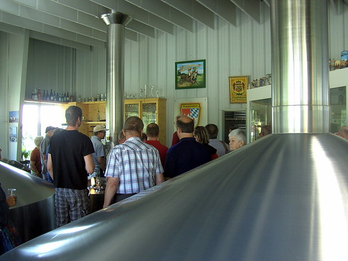 A guided tour thru the brewery