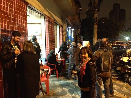 Última noite no Gelateria Italia