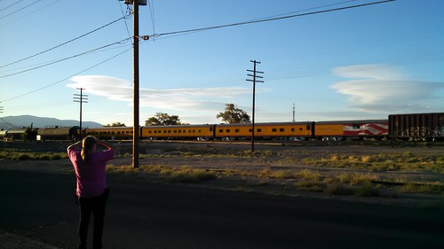 UP Business Train at Fernley