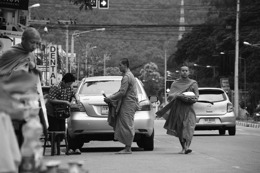Buddhist monks.