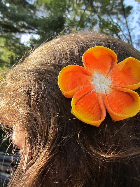Candy Corn Fascinator