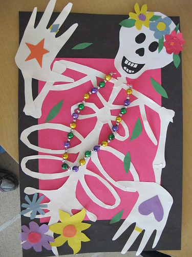 Name Skeletons: Art for Dia de Los Muertos