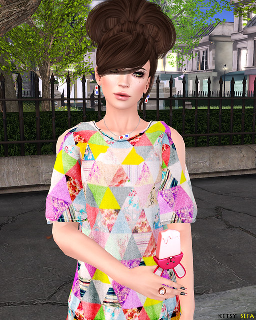 Patchwork Cute (New Post @ Second Life Fashion Addict)