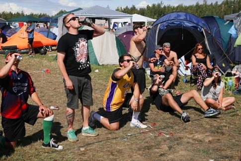 campsite action