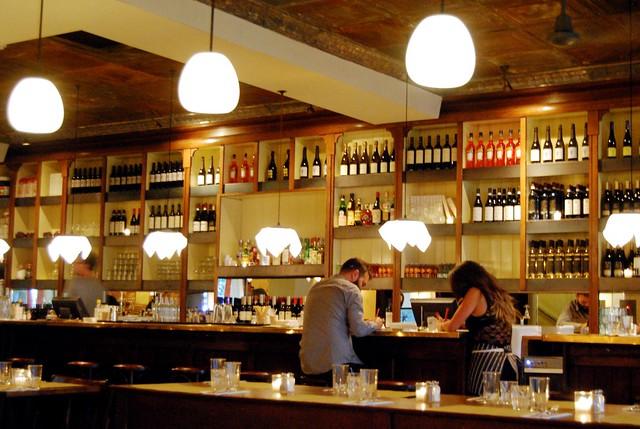 Polpo Notting Hill Bar Area