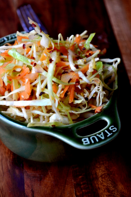 Recipe for Sesame Seed Coleslaw