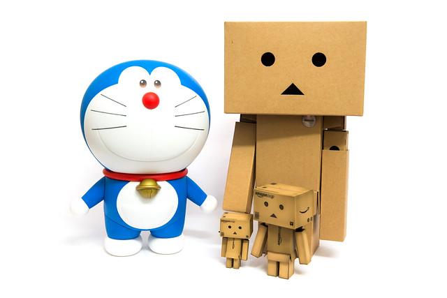 80 週年紀念!30 公分巨大小叮噹公仔 TAITO 哆啦 A 夢 開箱分享 @3C 達人廖阿輝