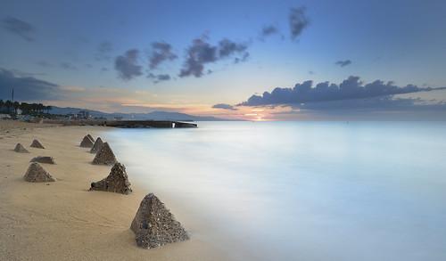 sea sky españa sun seascape sol clouds mar spain catalonia amanecer cielo nubes cataluña badalona largaexposición longexposition neutraldensityfilter nikon1224mmf4 paisajemarino filtrodensidadneutra nikond7100