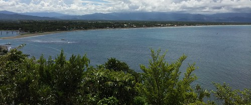 Sabang Beach coastline