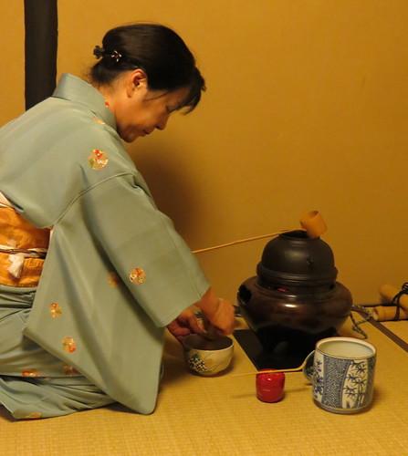 Tea Ceremony at WAK (Women's Association of Kyoto)