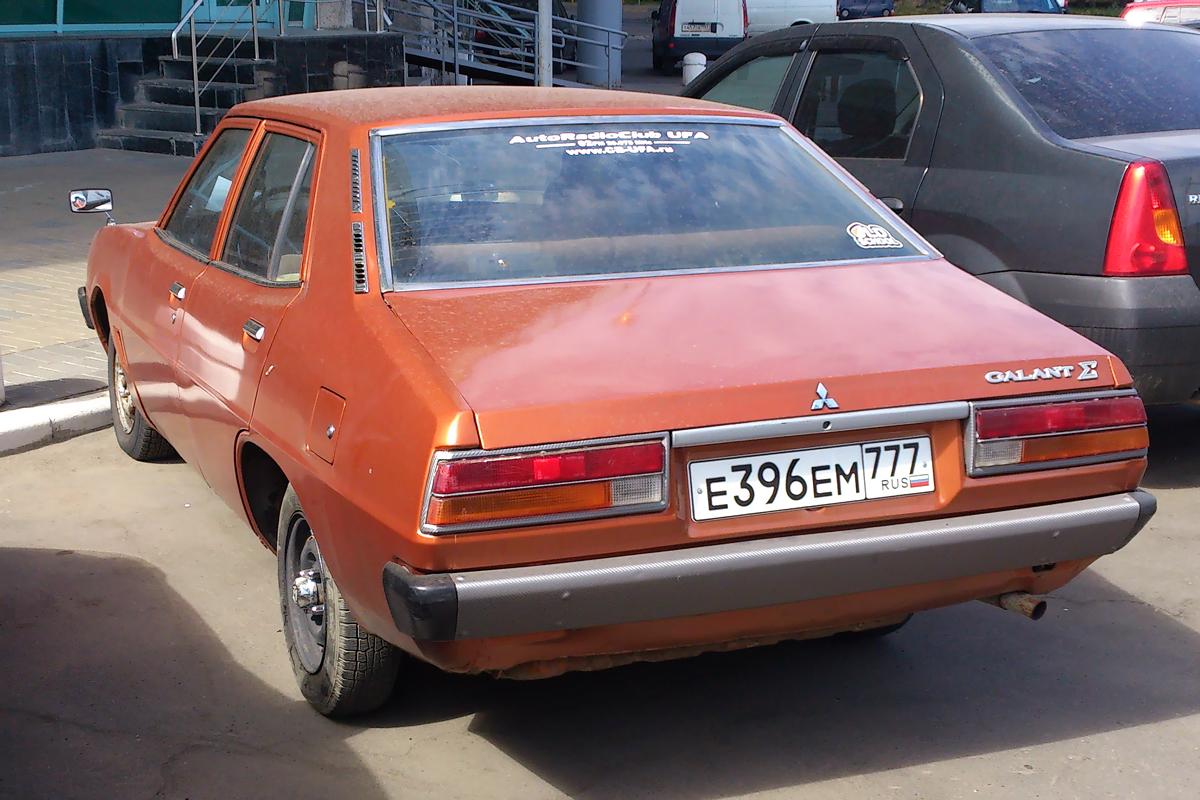 Mitsubishi Galant Mk.2 (1973-1976)