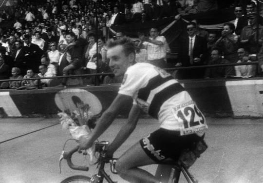 Parc Des Princes, lap of honour after the Tour de France 1959