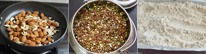 Hot to make Sathu Maavu Recipe - Step5