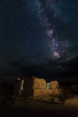 Milky Way over Ghost Town home