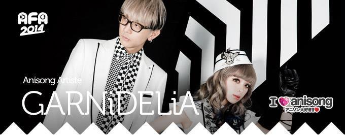 AFA 2014 I Love Anisong Mega Anime Music Festival GARNiDELiA