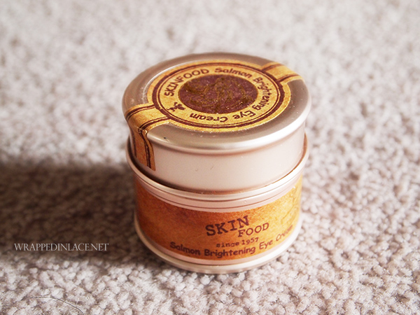 Skinfood Salmon Brightening Eye Cream Review