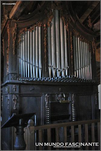 Órgano Barroco de la Iglesia de San Lorenzo.