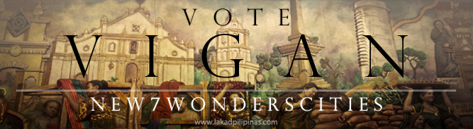 Click to Vote Vigan New 7 Wonders Cities