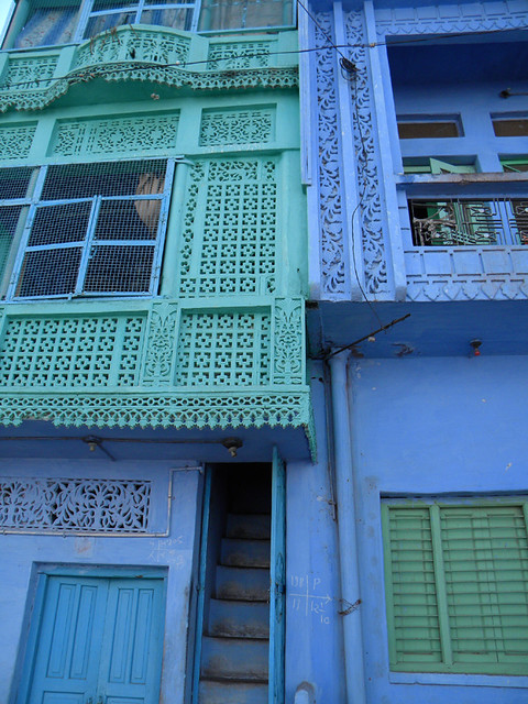Building in Beautiful Blue Bundi
