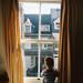 Boy by a window