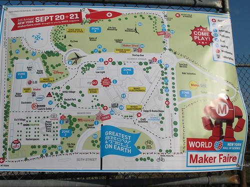 Maker Faire is large!