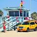 Venice Beach-Lifeguard with binoculars
