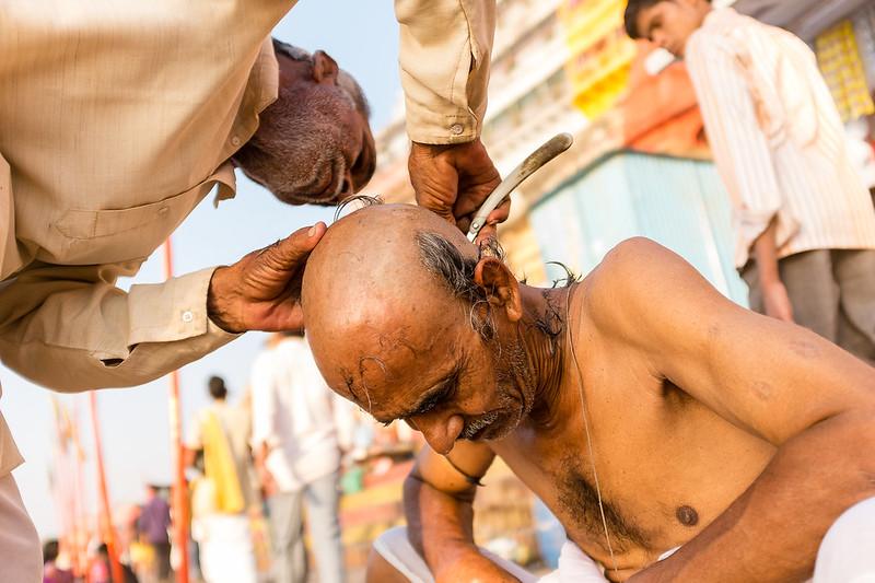 Varanasi Shaving #2