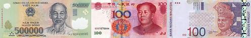Asian banknotes3