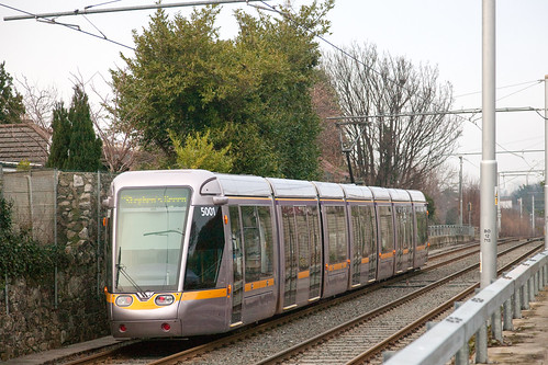Luas Green Line Dublin photo