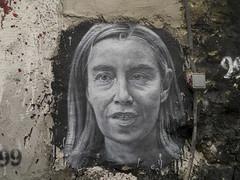 Federica Mogherini, painted portrait P1040051