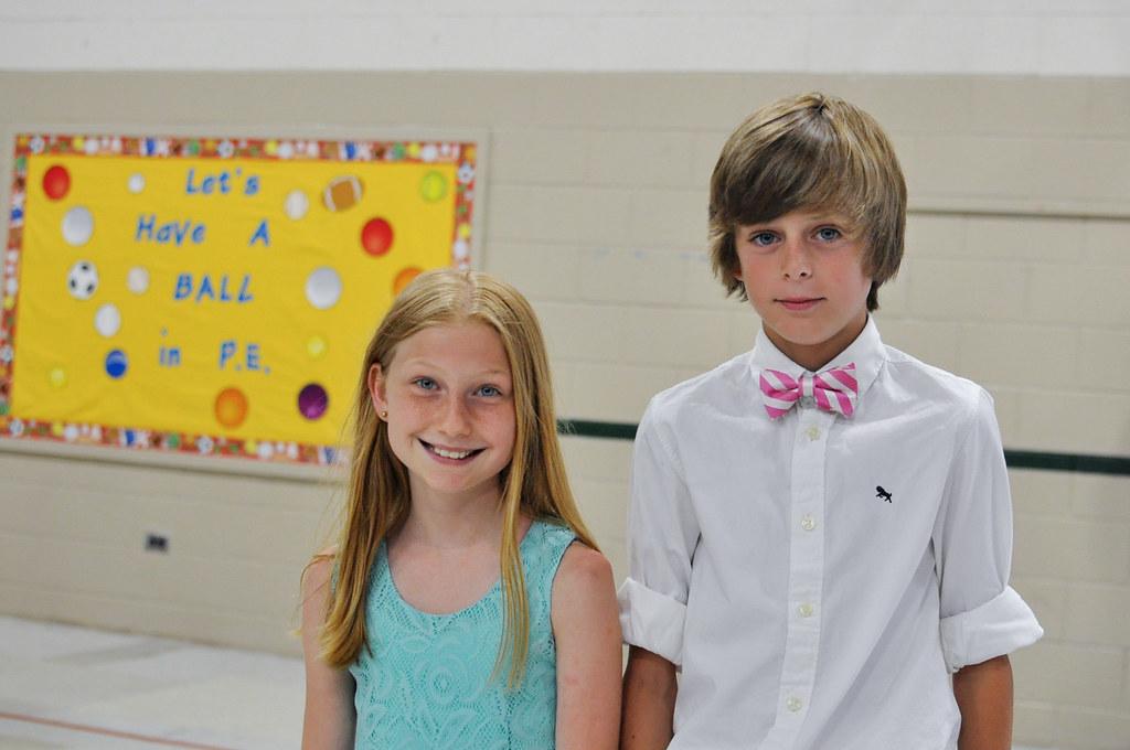 Jack and Olivia graduation