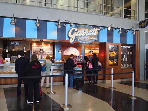 ギャレットポップコーン シカゴ・オヘア国際空港