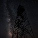 #17 Fire Tower Milky Way by stillwellmike